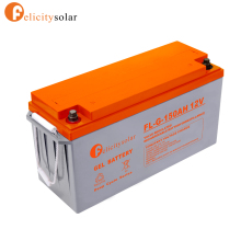 guangzhou felicity long lifespan 12v 150ah solar power storage battery