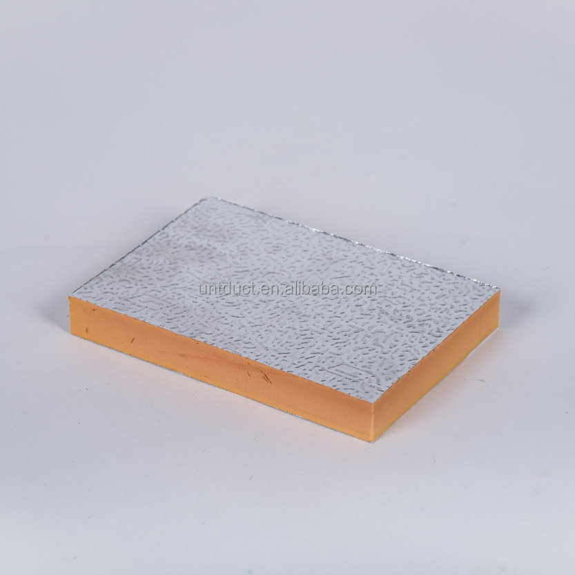 Air Ventilator Board : Phenolic foam pre insulated duct board for air ventilation