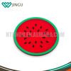 Eco-friendly custom silicone tea cup coaster fancy cup mats