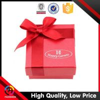 Classic Design Direct Factory Price Ribbon Packing Empty Gift Paper Boxes