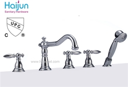 casting bath faucet shower set (85H06-chrome)