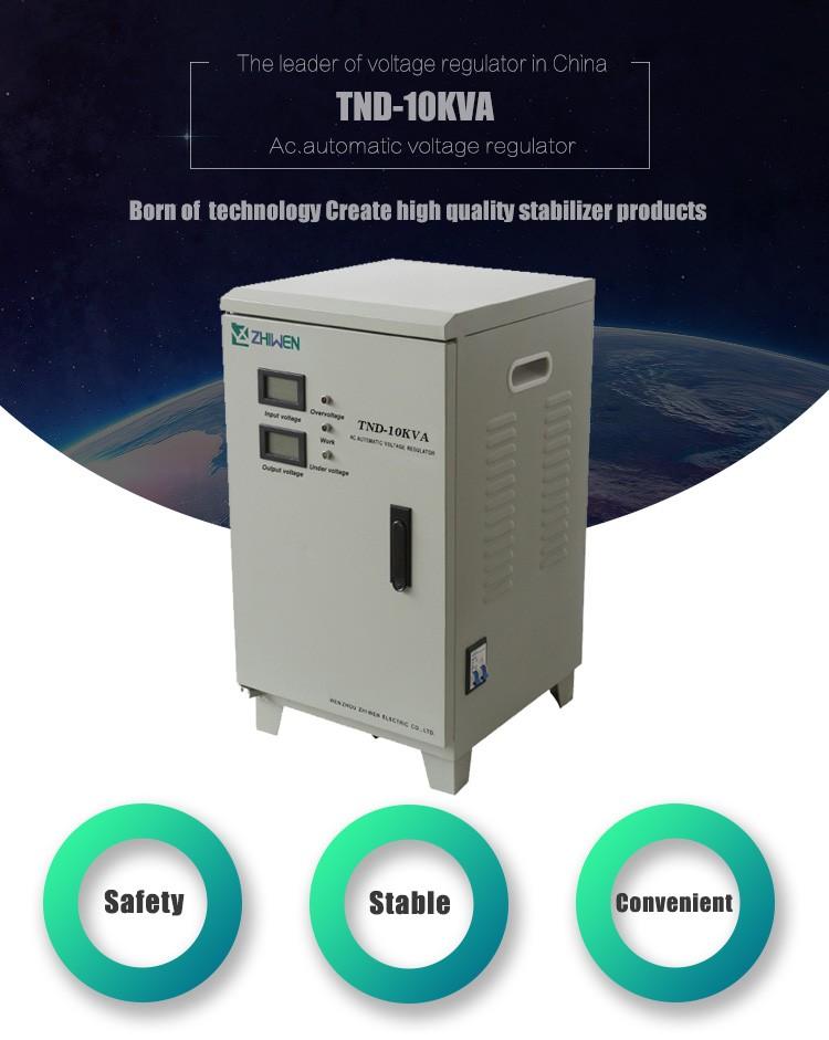 Tnd 10kw Voltage Regulators Stabilizers 10kva 220v Buy