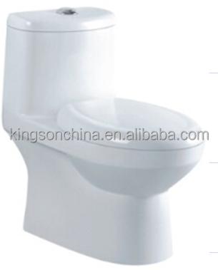KZ-8016 Chaozhou bathroom one piece wc toilet