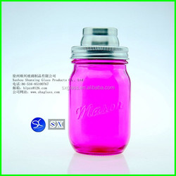 2015 hot new 16oz 500ml Cocktail Shaker Cap