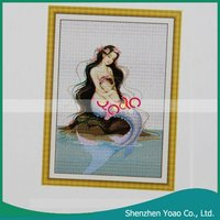 Mermaid Cross Stitch