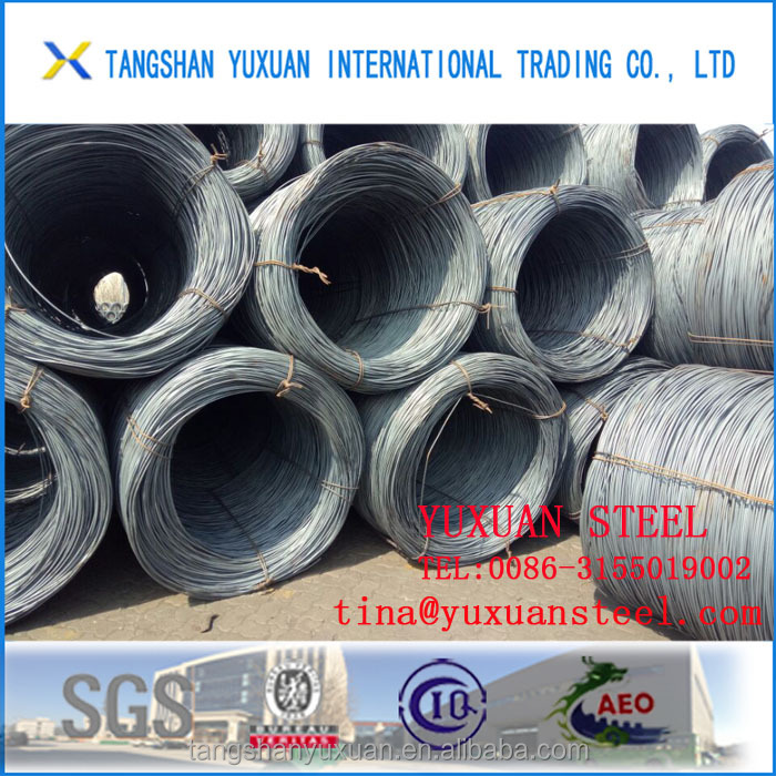 sae1006 sae1008 hot roll low carbon wire rod price