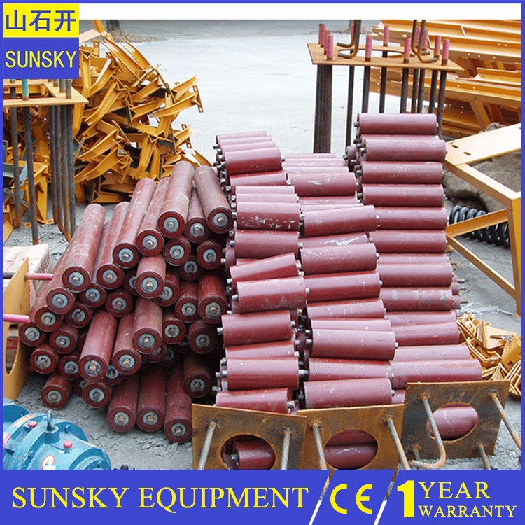 industrial belt conveyor convey equipment , rubber conveyor belt for stone crusher