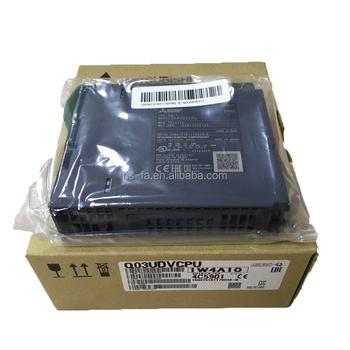 NEW) MITSUBISHI Q03UDVCPU PLC High-speed type USB Ethernet port CPU ...