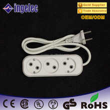 New Design 2 Pin German European Style Electric Extension Socket