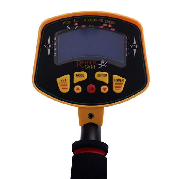 MD-3010II Metal Detector Gold Digger Light Hunter Deep Sensitive Search LCD UK