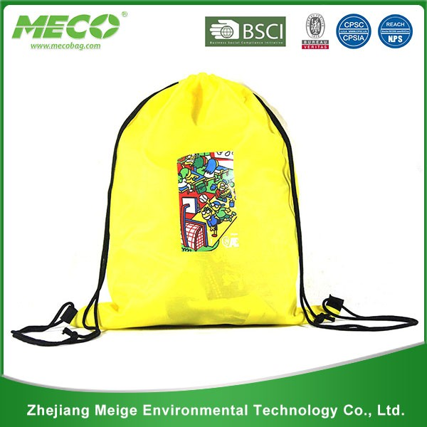 Promotional customized top quality cheap drawstring bag