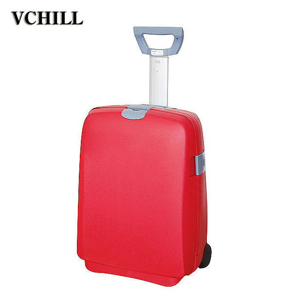 Customized professional hardshell eiffel tower luggage For travel