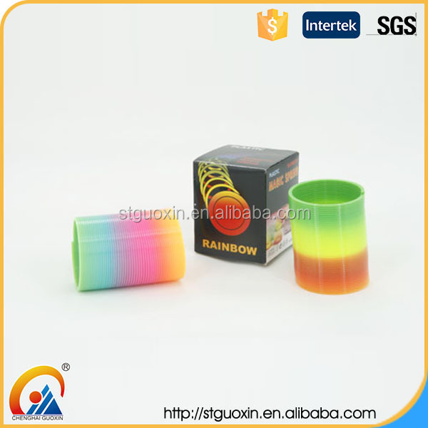 2016 The King Of Quantity Rainbow Coil Spring Slinky Toy Manufacturing Company