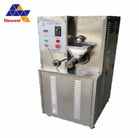 Favourable price corn puffing snack making machine,ice cream making machine,hollow tube corn puff snack extruder