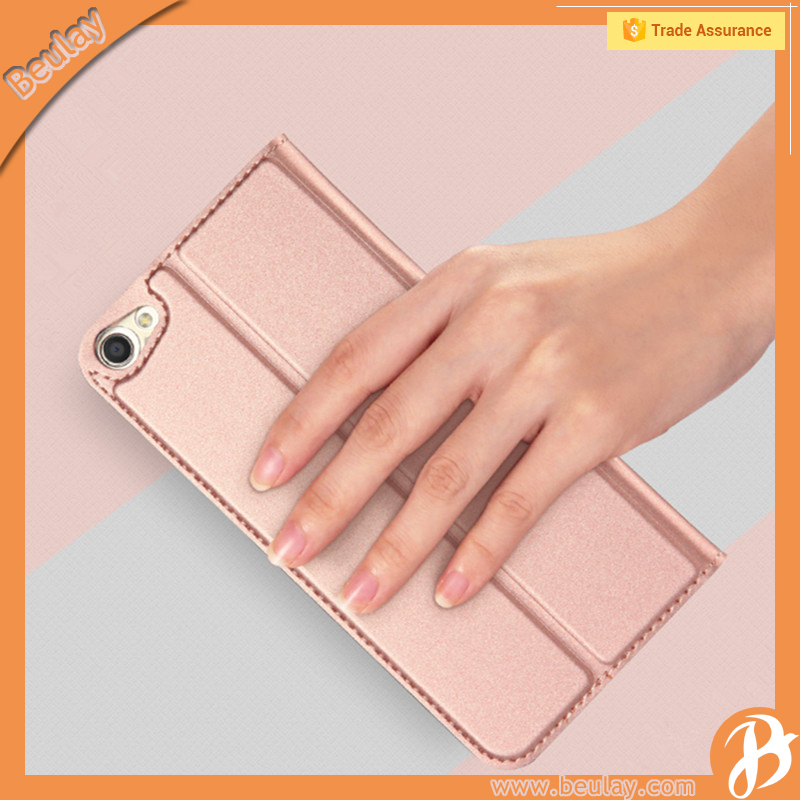 For BBK Vivo X7 360 degree Protective Shockproof Soft Leather Skin Cover Case