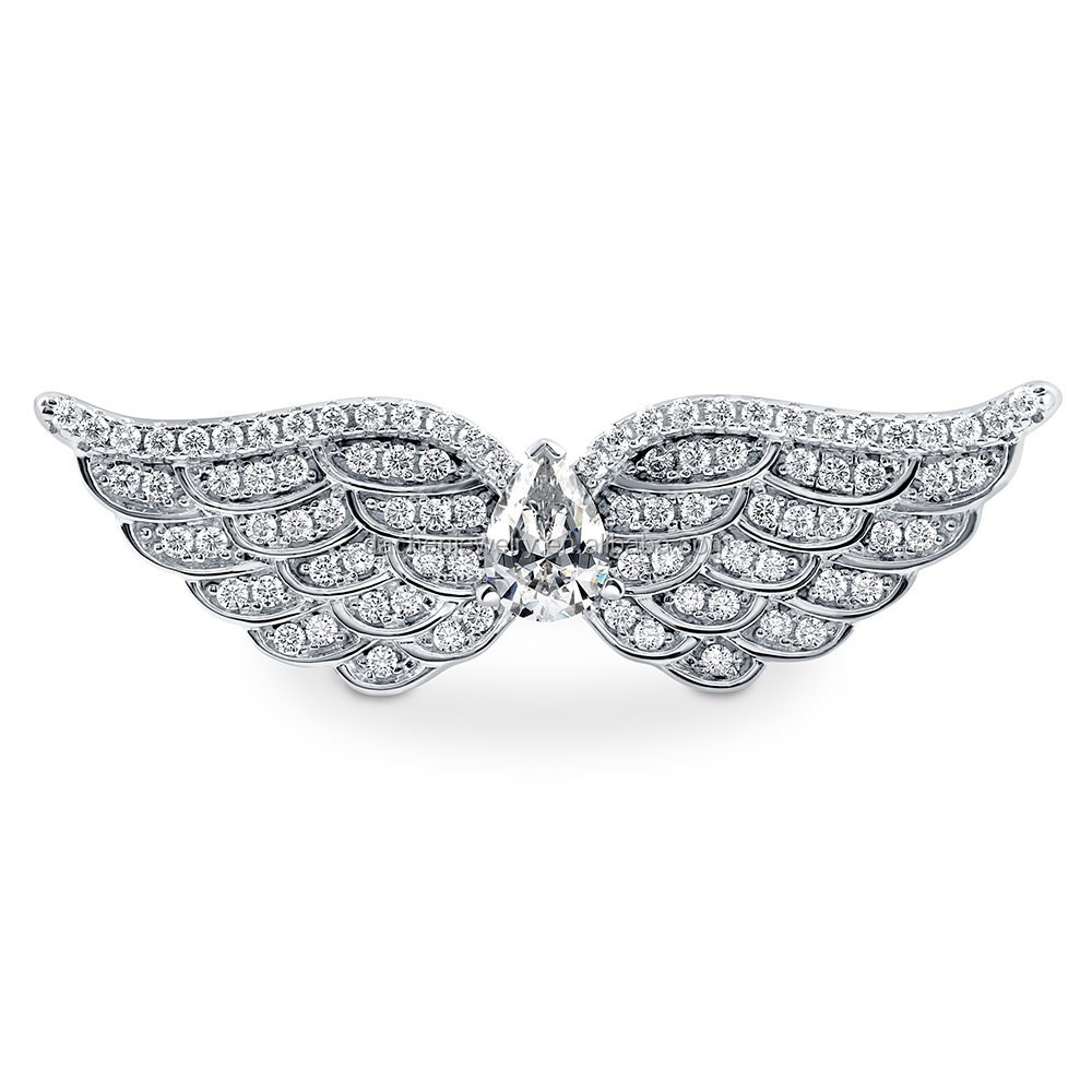2017 Factory Price 925 Sterling Silver Wing Ring For Friend