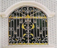 The simple&new designs iron window grill color