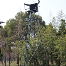 Hunting aluminum tripod tree stand/hunting treestand/shooting ladder tree stand