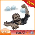 RENJIA food grade high quality silicone brain freeze ice cube tray zombies party fun-DIY ice mold