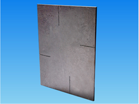 high temperature Refractory reaction bonded Silicon Carbide Plates for kiln; For ceramic: