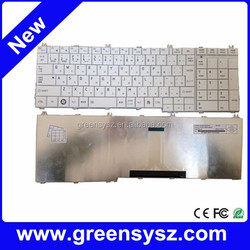 For Toshiba C650 C655 L750 notebook layout keyboard japanese JP keyboard