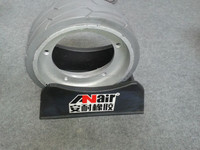 Genie solid rubber wheel 323x100