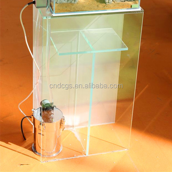 DICI glass cabinet aquarium furniture