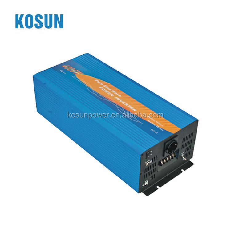 DC/AC frequency converter/inverter 4000W off grid power inverter for solar system