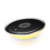 Mobile phone wireless charger with LED color changing night light