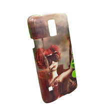 Big Sale!!! Wholesale White Blank 3D Sublimation Phone Case for SamSung Galaxy S5