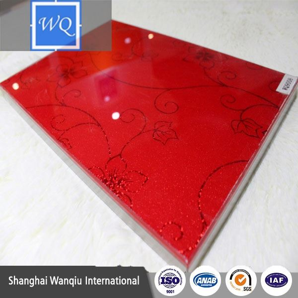 Timber Type E0 E1 E2 UV MDF / High Glossy UV Panel / Fiberboard in UV