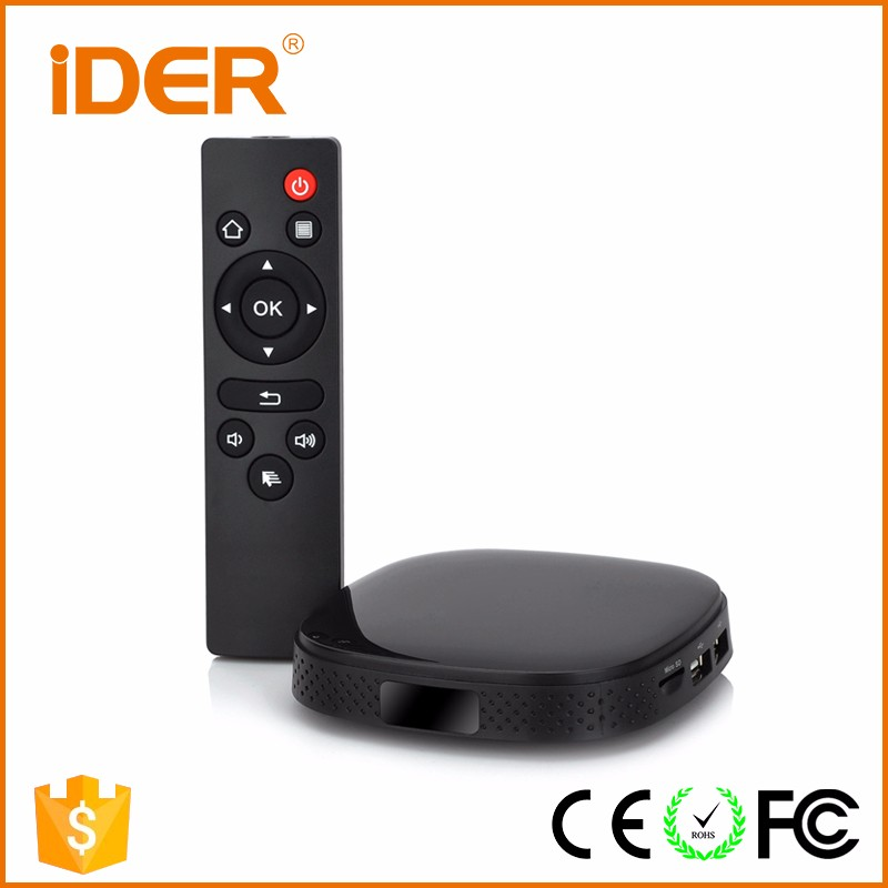 Smart Android 5.1 TV Box RK3229 Quad-Core with 1G / 8G Wifi Kodi XBMC UHD H.265 DLNA Miracast Airplay Streaming HD Media Player