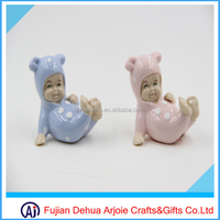 small size cute baby shower gift porcelain baby decoration