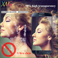 Latest popular ultra clear tempered glass screen protector for samsung galaxy s2 plus