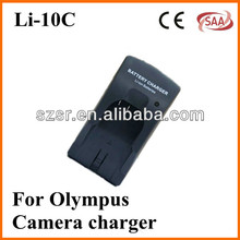 For Olympus digital camera travel charger LI-10C for X-1, X-2, X-3