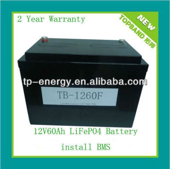 ODM/OEM automotive battery 12v 60ah