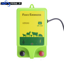 High voltage animals farm 12v waterproof plastic 0.5j electric fence energizer