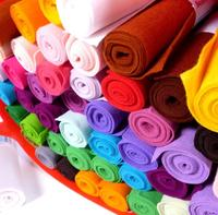 Customized colorful 100% wool felt fabric rolls , wool blend felt fabric rolls
