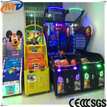 The popular Luxury Funny basketball Redemption game machine/Hit the ball into the basket by game machine for sale