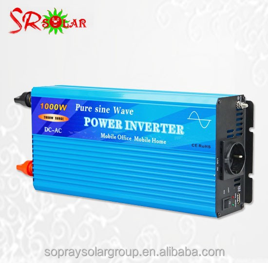 1000w pure sine wave inverter/solar inverter with built-in charger