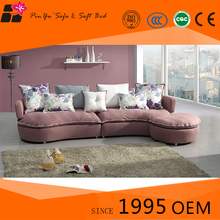 Space saving home furniture Red lwooden sofa set designs with upholstered sectional sofa