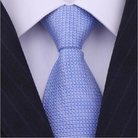 Factory No MOQ Free Sample Custom Jacquard Woven Silk Tie