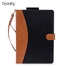 For iPad Pro 12.9 Case,Premium Leather Wallet Flip Case With Auto Sleep Wake Function For Apple iPad Pro 12.9 Inch