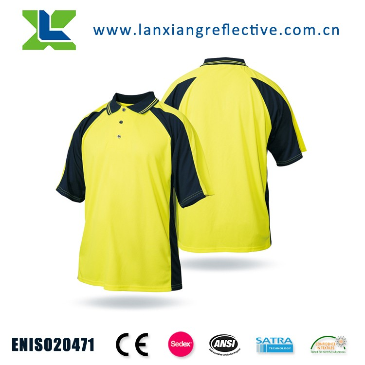 EN20471 High Visibility Cheap Safety Reflective T-shirt