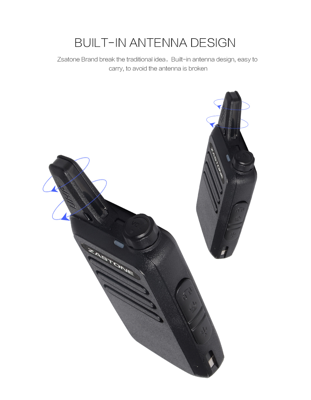 New arrival UHF MINI two way radio ZASTONE X6 mini portable walkie talkie