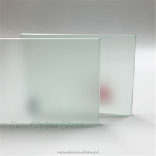 8mm acid etched glass frosted tempered safety glass for bath door