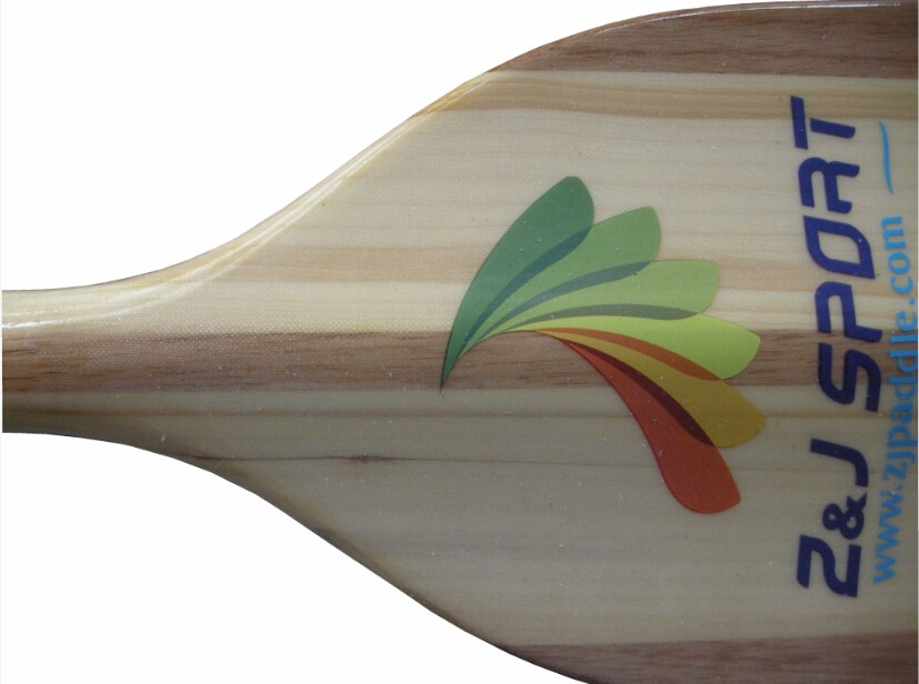 2017 IDBF Wood Paddle for Racing Boat dragon boat paddle