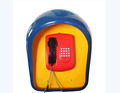 High quality Pavilion outdoor phone booth anti-voice office phone booth