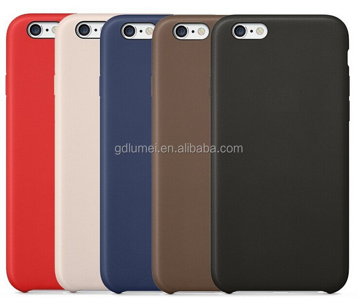 Hot Simple PU Leather Back Cover Case for Apple iPhone 6