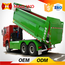 Chinese manufacturer 6x4 drive model left hand drive mini tipper truck